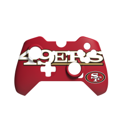 NFL Face-Off San Francisco 49ers Basic Face Plate